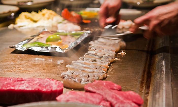 Shogun Restaurant Japanese Steak House - Corpus Christi: Hibachi Cuisine for Dinner at Shogun Restaurant Japanese Steak House (Half Off). Two Options Available.
