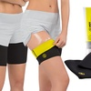 Compression Sauna Leg Shapers with Slimming Toning Gel
