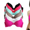 Women's Full Cup Diamond Accent Bras (6-Pack)