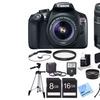 Canon EOS Rebel T6 18MP 1080p DSLR Lens Bundle