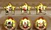3x Weihnachts-Deko zum Aufhängen