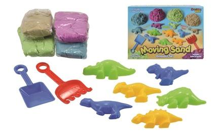 Moving Sand Dinosaur Set
