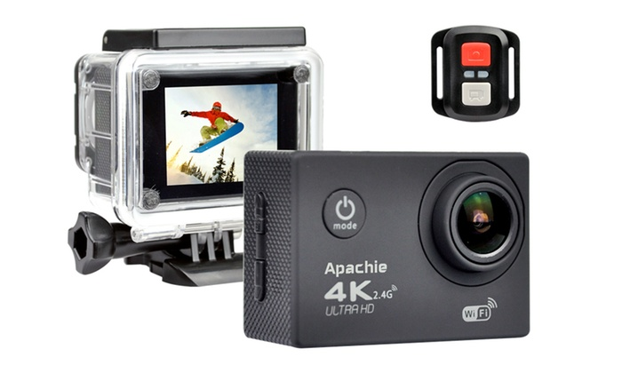 Apachie 4K Ultra HD Action Camera
