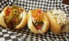 Buns & Brews - Short North: Gourmet Hot Dogs and Soft Drinks for Two or Four at Buns & Brews (40% Off)
