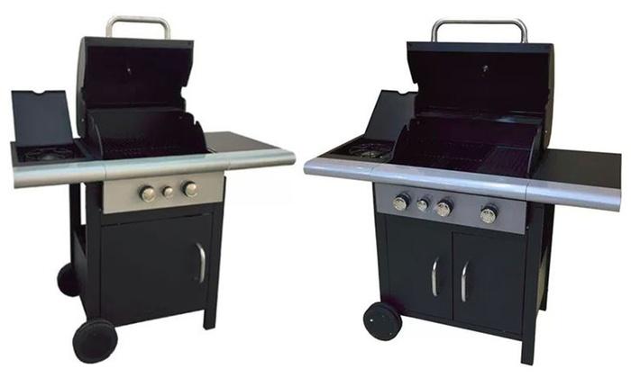 Barbecue casagarden con fornello groupon goods - Cucinare con la pietra lavica ...