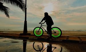 Lumières LED pour roues de vélo