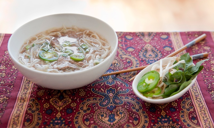 Green Papaya - Oak Lawn: Vietnamese Dinner for Two or Four  (Up to 40% Off)