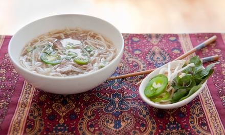 Vietnamese Dinner for Two or Four  (Up to 40% Off)