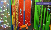 Indoor Climbing Session for Child, Adult or Family of up to Four at Clip N Climb Dundonald (Up to 51% Off)