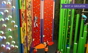 Clip 'N Climb Dundonald: Indoor Climbing Session for Child, Adult or Family of up to Four at Clip 'N Climb Dundonald (Up to 51% Off)