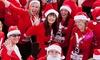 Santa Hustle - Veterans' Park: Santa Hustle 5K or Kid's Rudolph Run Registration Package at Santa Hustle (Up to 60% Off)