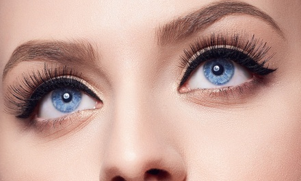 Full Set of Natural $39 or Glamour $49 Eyelash Extensions at Bedroom Eyes Up to $179 Value