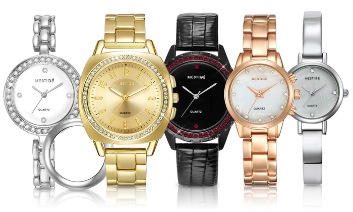 Mestige Watches with Crystals From Swarovski® from £10.99