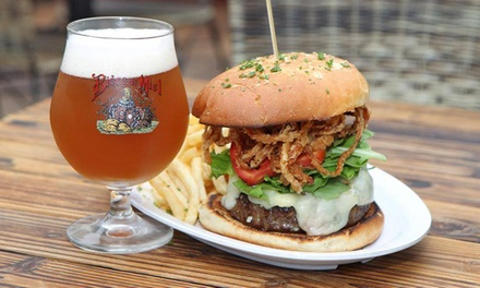 Appetizers, Burgers, and Beer for Two or Four at Twine Restaurant (Up to 55% Off)