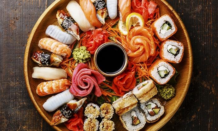 Sushi All you can eat e bottiglia di vino per 2 o 4 persone al ristorante Genso Sushi zona Trionfale (sconto fino a 58%)