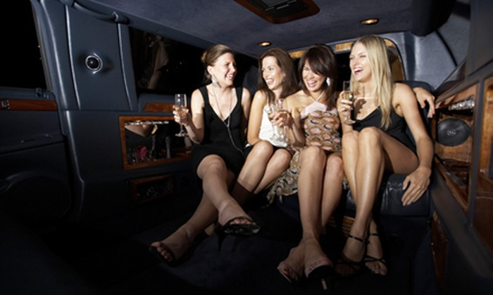 Starlite Limousine - Sacramento: Five-Hour Party-Bus Nightclub Tour for Up to 23 with Club Admission or Five-Hour Limo Wine Tour for Up to 9 (Half Off)