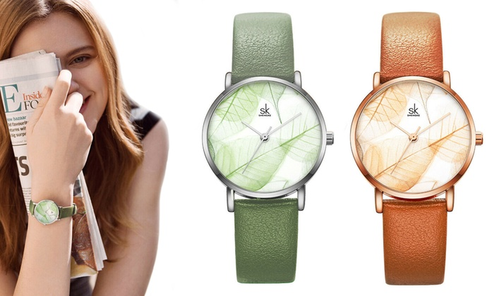 in arrivo negozio del Regno Unito brillantezza del colore Fino a 86% su Orologi Shengke da donna | Groupon