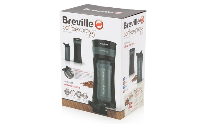 Breville Coffee Express Vcf050 Groupon Goods