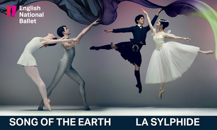 Song of The Earth and La Sylphide, 9-13 January 2018, London Coliseum (Up to 51% Off)