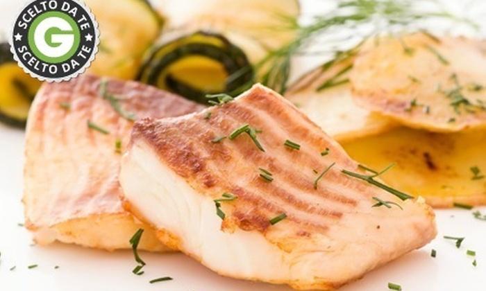 RISTORANTE DA IRENE - Ristorante Magaton Irene & C. SAS: Menu di pesce di 4 portate e vino da 39 € invece di 114