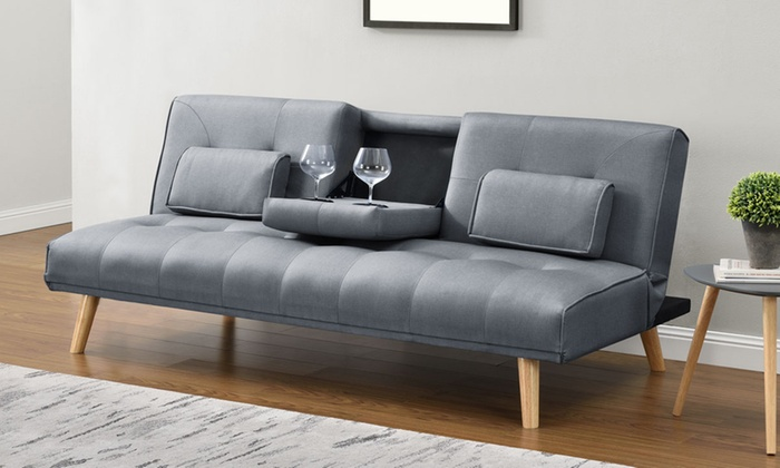 Brooklyn modern sofa bed groupon goods for Sofa bed groupon