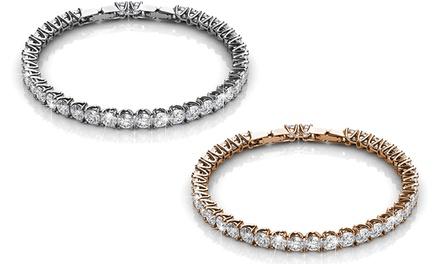 """Armband """"Venus"""" in der Farbe nach Wahl, verziert mit Kristallen von Swarovski® (Koln)"""