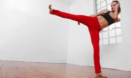 $25.99 for Five Yoga, Kickboxing, or Boot-Camp Classes at PIES Fitness Yoga Studio ($65 Value)