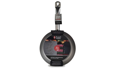 One £10.99 or Two £19.99 Russell Hobbs Infinity Professional 24cm Fry Pans