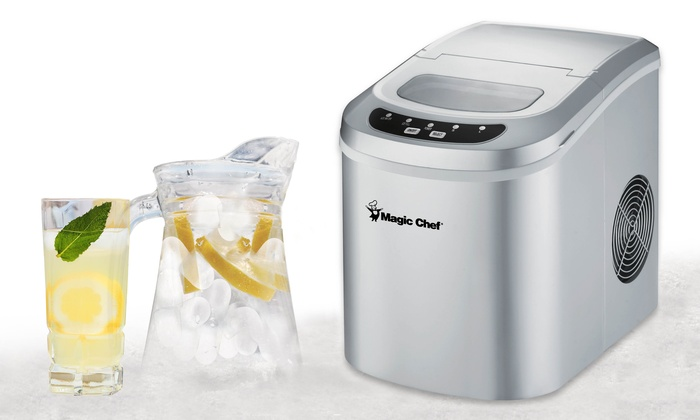 magic chef ice maker magic chef portable maker groupon goods 10897