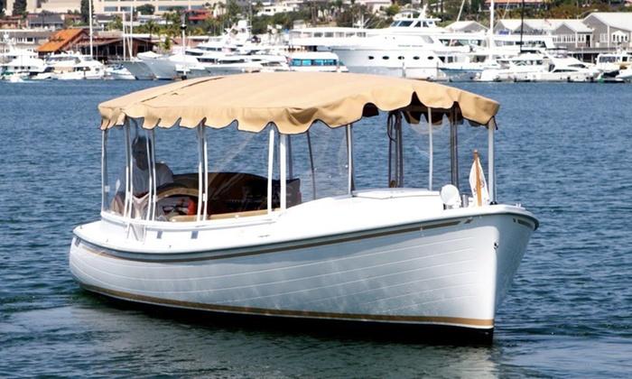Groupon Duffy Boat Newport Beach