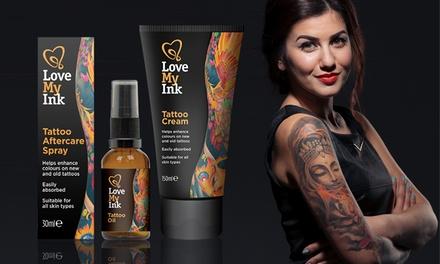 Spray, Olio, Crema per Tattoo