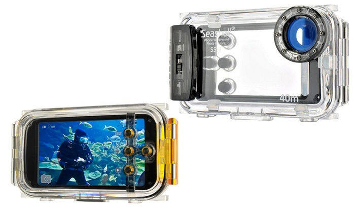 custodia subacquea iphone