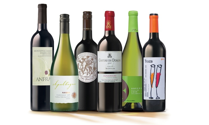 023ecd1991e Up To 24% Off on Wine of the Month Subscription | Groupon Goods