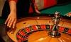 ジク― - アミューズメントカジノ ジク―: 53%OFF【2,000円】新宿でカジノ体験に熱狂≪チップ360$+選べるドリンク≫駅すぐ・予約不要・5枚迄利用可