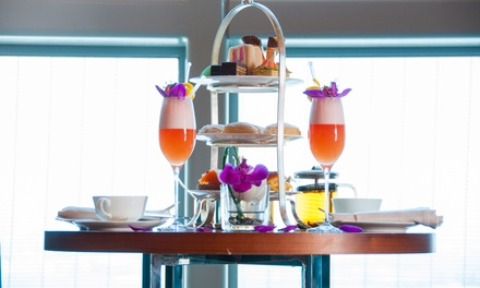 Skyline Afternoon Tea with Optional Sparkling Beverage for One or Two at Hyatt Capital Gate Hotel (Up to 55% Off)