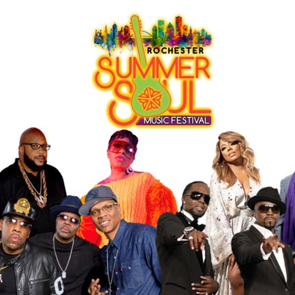 Rochester Summer Soul Music Festival w/ Bell Biv Devoe, Keke Wyatt, Guy,  and More on Saturday, August 24, at 5 p m