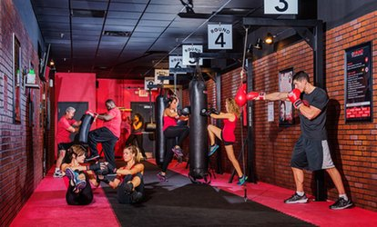 image for Five or Ten Kickboxing Circuit Training Rounds at 9Round (Up to 71% Off)