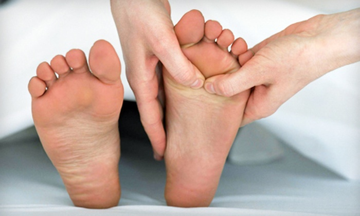 Angels Feet - Hoffman Estates: One or Two Foot Reflexology Massages and Chair Back Massages at Angels Feet (Up to 53% Off)