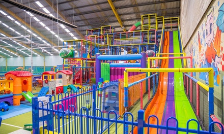 2 hour Party $95, 15 $135 or 25 Children $225 at Slides Playcentre & Cafe Up to $475 Value
