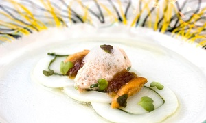 L'Étage: 5-gangen menu voor 2 of 4 personen vanaf € 49,99 in restaurant L'Étage