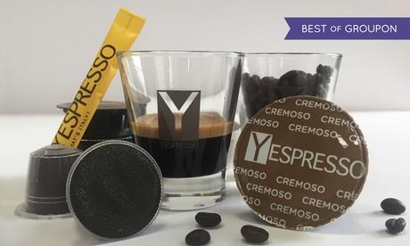 Buono fino a 40 € su capsule compatibili Nespresso, Lavazza, Nescafè dolce gusto di Yespresso con spedizione gratuita