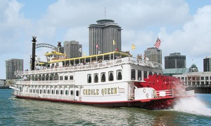 Up to 21% Off Historic Cruise from Paddlewheeler Creole Queen at Paddlewheeler Creole Queen, plus 6.0% Cash Back from Ebates.