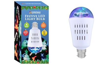 Festive LED Light Bulb