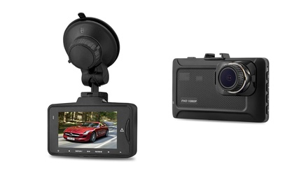 Full HD Dash Crash Camera DVR with Night Vision