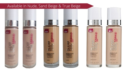 Maybelline Super Stay Foundation: Two $12 or Four $19 Bottles Don't Pay up to $99.80