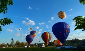 Magic Air Events ASBL: Vol en montgolfière, Pass pour le Domaine des grottes de Han à 139€