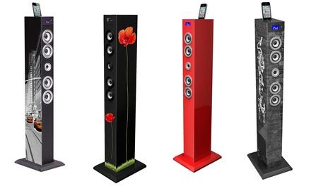 Torre multimediale Bluetooth Bigben disponibile in 4 modelli