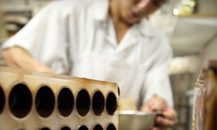 Canady Le Chocolatier - West Town: $75 for a Three-Hour Basic or Advanced Chocolate-Making Class at Canady Le Chocolatier ($200 Value)