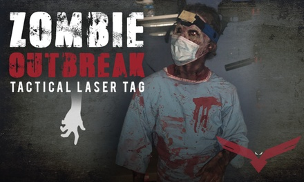 90-Minute Halloween Laser Tag Session for Two on Oct 18, 19, 25, or 26 at iCOMBAT (Up to 15% Off)