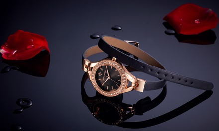Reloj con 36 cristales Swarovski® colección Joliet de Timothy Stone (envío gratuito)